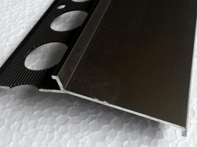 Profil aluminiowy balkonowy 85mm 3m brąz