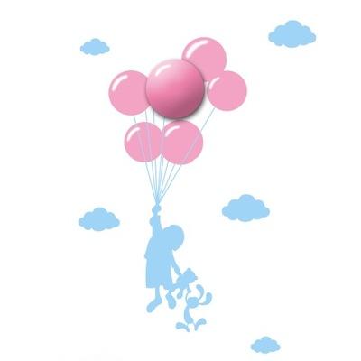 Бра воздушные шары с наклейками 1W LED ML142