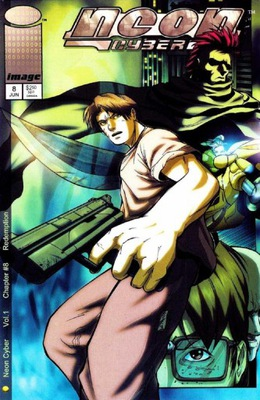 NEON CYBER # 8 - 2000 - KOMIKS USA - 8