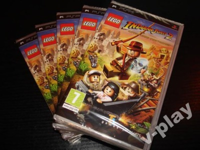 Lego Indiana Jones I + II gra gry dla dzieci psp