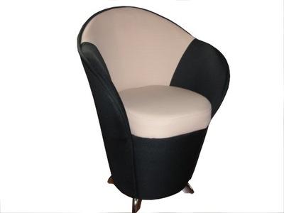 Кресло   !!! пуф со спинкой XXL Хром