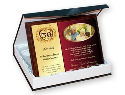 50 lecie slubu prezenty