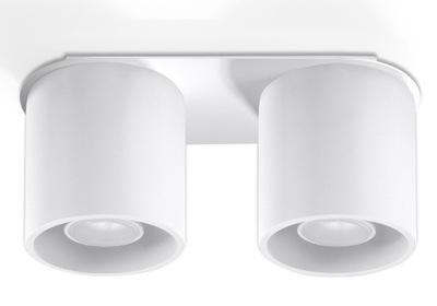 Svietidlá - Závesné svietidlá - Plafon ORBIS P2 biały walec tuba LED!
