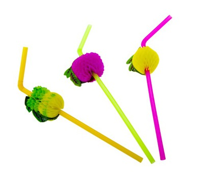 Slamky pre deti - Slamky na nápoje 50ks