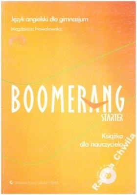 Boomerang Starter Książka dla nauczyciela NOWA ang