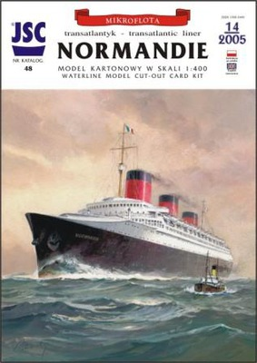 JSC 48 Francuski supertransatlantyk NORMANDIE
