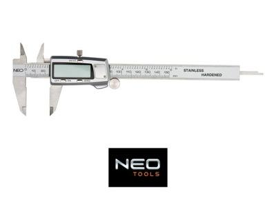 NEO Vernier STRMEŇ DIGITÁLNE 150 mm z nehrdzavejúcej OCELE 75-011