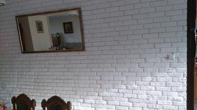камень Декоративный белая Кирпич С ФУГА-30/м2