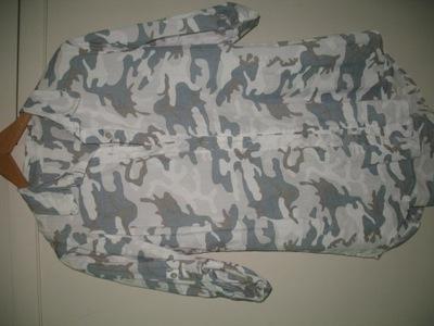 koszula moro długa 40 42  bawełna