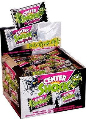 Gumy balonowe CENTER SHOCK kwaśne Monster 100szt