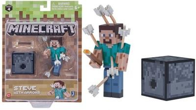 Minecraft Zestaw Steve ze strzałami Mojang 19971