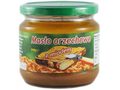 Вкусный ?????????? масло с медом BAŁCHO 340g