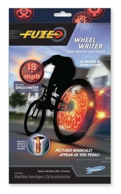 LED Osvetlenie na Bicykel, kolesá, Fuze Kolesa Spisovateľ
