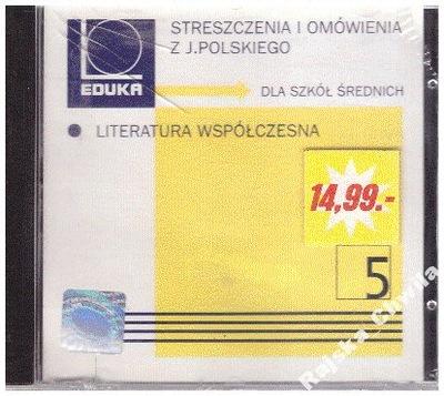 Streszczenia i omówienia 5 LiteraturaWspóczesna-CD