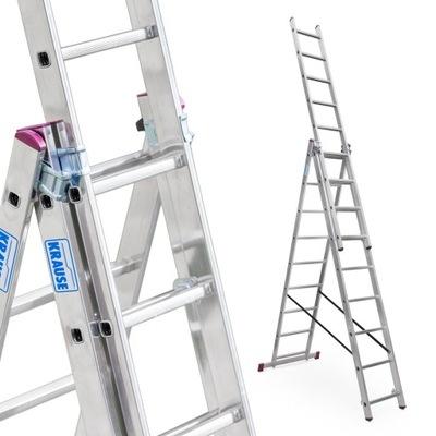 Лестница алюминиевая 3x9 Краузе CORDA выс. роб. 6 ,2м