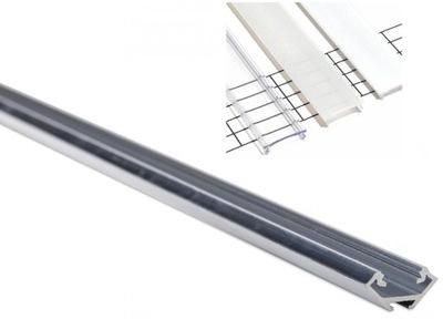 АЛЮМ ПРОФИЛЬ +АБАЖУР Lumines C для лента LED Планка 1м