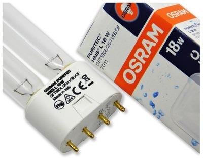 Нити люминесцентная лампа УФC HNS 18W Puritec Osram 2G11