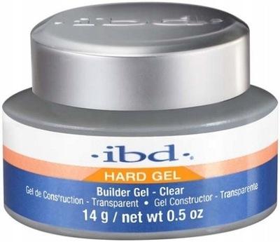 IBD Hard Builder Gel Clear Pink Żel Budujący 14g