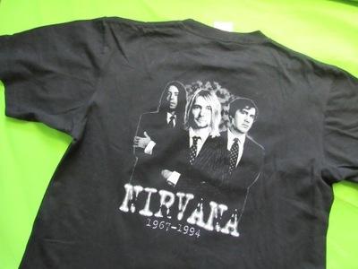 Nirvana Kurt Cobain 1967-1994 Grunge  T SHIRT/ L
