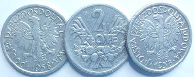 Монета 2  золотые Ягоды 1958 года красивая