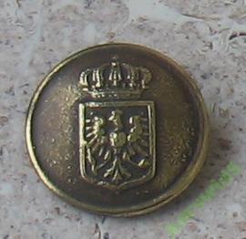 пуговица Прусский пуговицы орел, корона большой или маленький