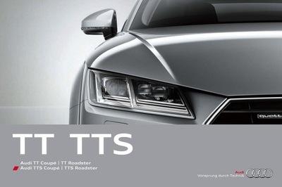 Audi TT TTS prospekt 2015 126 str.