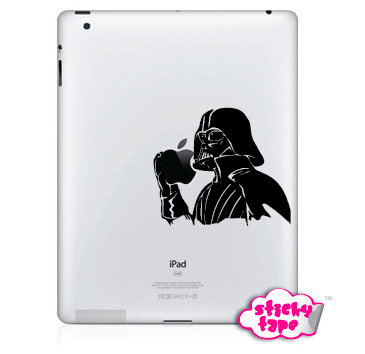 Naklejka tablet Apple iPad Star Wars Darth Vader