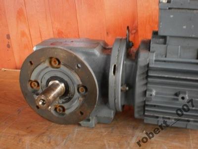 silnik elektryczny 0.4 kw motoreduktor 51 obr