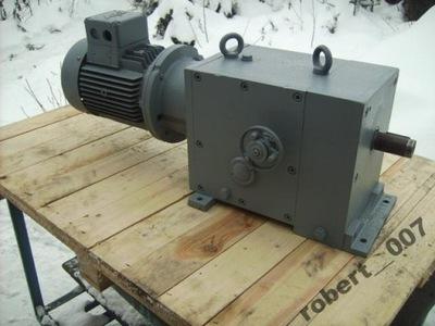 motoreduktor regulowany 78 do 837 obr moc 1,5 kw