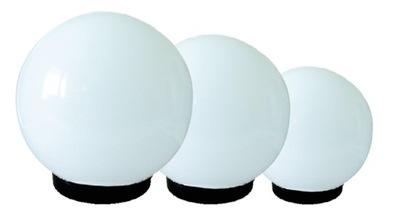 LAMPY KLOSZE OGRODOWE 400,300,250 mm Z OPRAWĄ