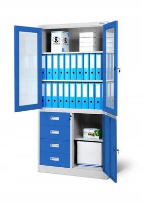 шкаф RODO офисная металлическая на дело  НОВАК