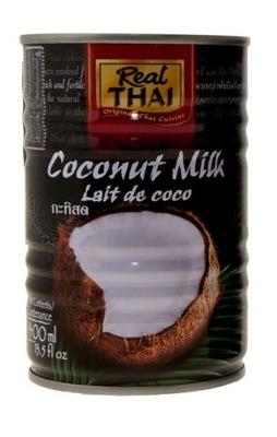 [КС] 24x Маточное Кокосовое , молоко 400 мл Real Thai