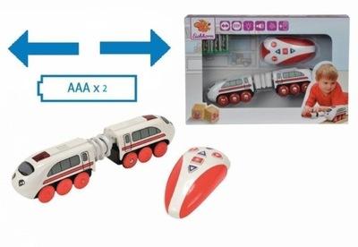 Rýchlik Intercity na diaľkové, diaľkovo ovládané vlak