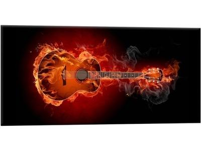 f41ddeb15ffd4 Gitara Obraz Obrazy na płótnie 150x105 Druk 6598457382 - Allegro.pl