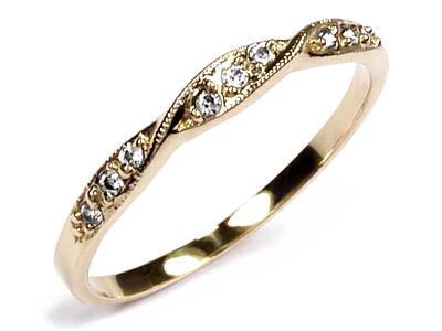 Złoty Pierścionek Obrączka 24k Srednica 16mm 7117438021