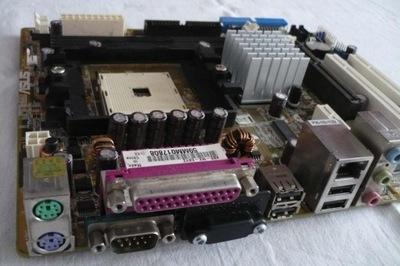 Asus K8S-MX AGP DDR IDE SATA LAN  s754/Warszawa