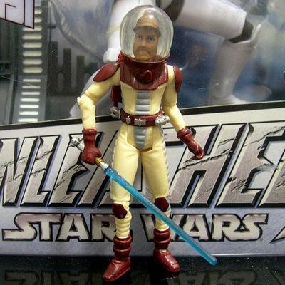 STAR WARS clone wars OBI-WAN space suit