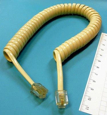 [STcs] KTEL2S*kabel telefoniczny z końcówkami 2pin