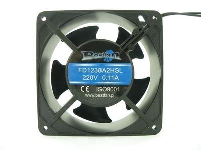 Príslušenstvo pre zváranie - BESTFAN 120x120x38mm ventilátor 230V pre zváračov