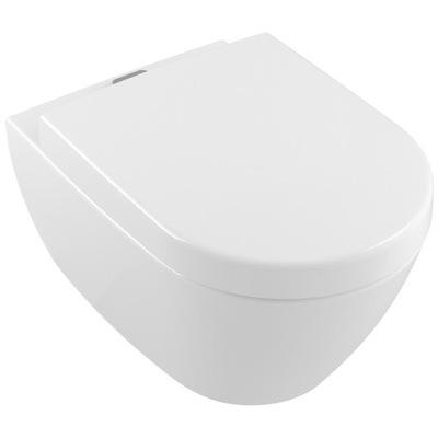 WC misa - Villeroy bezrantowa záchodová misa zavesená na členok