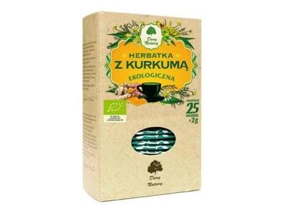 Чай с Kurkumą - Дары Природы (25x2g) эко
