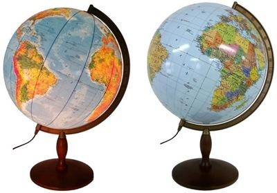 Globus 420 mm s OSVETLENÍM 2 v 1 STROM * DARČEK