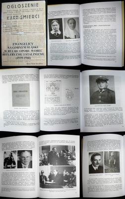 RUCH OPORU 1939-1946 GÓRNY ŚLĄSK - EWANGELICY
