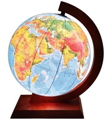 Globus 420 mm s OSVETLENÍM 2 v 1 STROM LAMPA NOVINKA