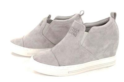 01194583 LU BOO Trampki Koturny Sneakersy Botki B641 R40 - 6803135092 ...