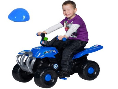 Štvorkolka na pedále - Veľký traktor pre pneumatiky bicyklov