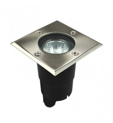 Záhradné svietidlo nájazdové - GU10 SU-MA LED štvorcové svetlo, PABLA