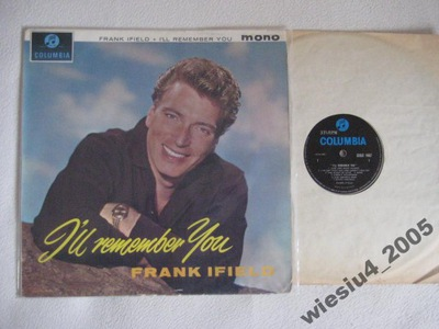 Frank Ifield- I'll Remember You  /UK/