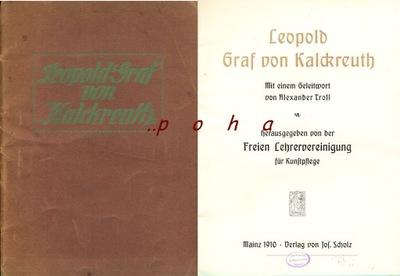 Leopold Graf von Kalckreuth 1910