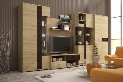Стенка для гостиную Мебель для гостиной БЕРГАМО